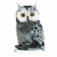 "Barney Great Horned Owl 9"" Stuffed Animal Plush Aurora Flopise NWT 03214"
