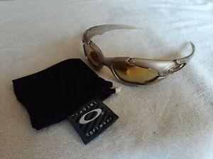 Oakley PLATE Platinum - 24k Gold Iridium - VERY NICE