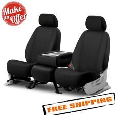FIA NP99-33 Black with Gray Cover Front Bucket Seats//Neoprene Center Panel