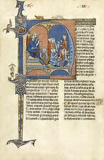 Illuminated Manuscripts: Vidal Mayor, Spanish c. 1310: Fine Art Print