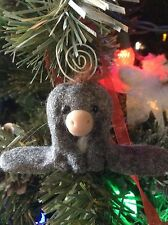Nestor The Long Eared Donkey Christmas Tree Ornament By Aaron Matthies Custom