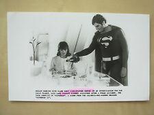 1980 FILM STILL PRESS PHOTO - SUPERMAN 11 - CHRISTOPHER REEVE & MARGOT KIDDER  2