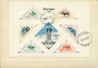 2420 LUNDY 1958/61, 3 different covers and FDC's within Europe Issue, nice lot