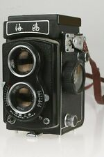 Seagull 4A 6X6 Cm mit Haion 3,5/75 mm # 4A103-21706 incl. Tasche, Riemen, Deckel
