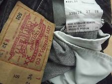 "LEVIS 501 W32"" L30"" STRAIGHT FIT JEANS  (ORIGINAL) 101"