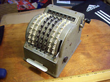 ANTIQUE VINTAGE SUMMIRA 7 ADDING MACHINE NR WEST GERMANY