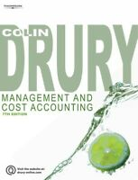 Management and cost accounting by Colin Drury (Paperback) FREE Shipping, Save £s