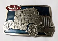 Peterbilt logo 1970s limited edition #2271 Belt Buckle Beautiful gift motors NM