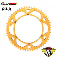 Supersprox Rear Alloy Sprocket for Maico 250 400 440 490 (1969-89) - Gold 58T