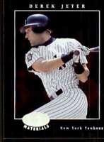 2001 Leaf Certified Materials Derek Jeter New York Yankees #5