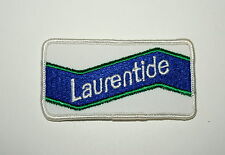 Vintage Laurentide Beer Distributor Cloth Patch 1970s 1980s NOS New