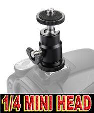 MINI BALL HEAD HOT SHOE FLASH TESTA SFERA 1/4 SLITTA ADATTO A SAMSUNG GALAXY NX