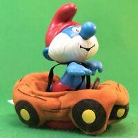 McDonalds Schlumpf Papa Schlumpf mit Auto #10-150