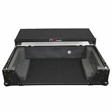 ProX Road Gig Ready Flight Case for Denon MC3000 MC2000 Controller, All Black