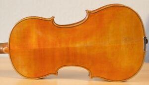 old violin 4/4 geige viola cello fiddle label LEANDRO BISIACH 1064