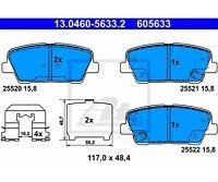 ATE Bremsbelagsatz, Scheibenbremse  Hinten für KIA Sorento II