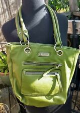ROSETTI Apple Green Leather Handbag Shoulder Purse