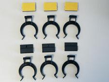 Sockel Halterungen Klips selbstklebend Clips Küchen Leiste Unterschrank 6 Stück