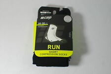 CEP Sportswear Dynamic+ Short Socks Size III Mens Medium Black/Gray