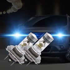 2x H4 Cree LED 100W 20SMD 6000K Super Brouillard Phare Brillant Ampoule Blanc