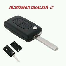 Cover Guscio Chiave Peugeot 407 408 307 308 107 207 Telecomando due 2 Tasti Key