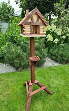 Vogelhäuschen VOGELHAUS aus Holz ,Vogelhäuser Vogelfutterhaus ,Ständer