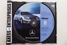 2000 Mercedes C-COMAND Navigation CD # 0191 Map 8 Mid Atlantic DC DE MD NJ PA VA