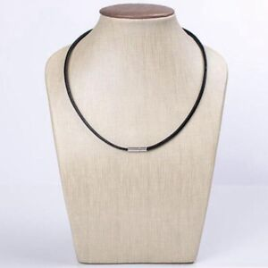 3mm Real Leather Choker Necklace Bracelet Cord With Bayonet Clasp