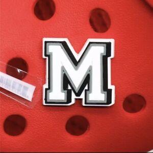 Letter M Crocs Charm