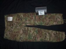 MULTICAM TROUSERS COMBAT LARGE-SHORT USA MILITARY ACU CAMO PANTS L-S pre-owned