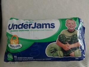 PACK OF 11 BOYS UNDERJAMS BEDWETTING UNDERWEAR PANTS SIZE L / XL