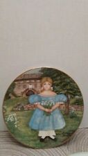 """1986 Knowles """"Ann by the Terrace"""" Plate -Vintage 1986"""