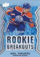 Nail Yakupov 13/14 Upper Deck Series Two Rookie Breakouts /100