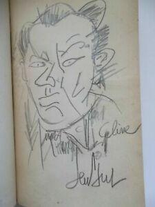 Ferdinand Céline Gen Paul dessin au crayon gris signé ami Frank Will Utrillo