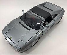 BBURAGO - 18-16006 - Ferrari 348ts course et joue échelle 1:18 - Argent