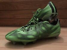 Adidas F50 Adizero Haters Mens Uk 8 SG Green Black Pro Football Boots