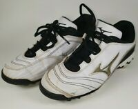 Mizuno Wave 9-Spike Watley G3 Switch Low Womens Softball Cleat White Size W7.5