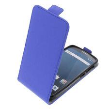 Funda para Alcatel one touch pop 2 (4.5) Tipo Flip protectora con tapa Azul