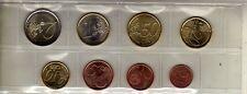ITALIE Serie de 8 pièces en Euro UNC 2012
