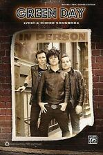 Green Day -- Lyric and Chord Songbook by Alfred Publishing Staff (2011, PB)