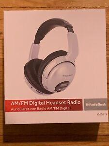 RadioShack AMFM Stereo Headset Radio AM/FM