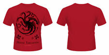 Cotton Short Sleeve Game of Thrones Solid T-Shirts for Men