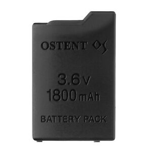 OSTENT 1800mAh 3.6V Rechargeable Battery Replacement for Sony PSP 1000 PSP-110