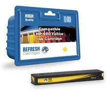 compatible HP 980 Officejet empresarial color Flujo AMARILLO CARTUCHO DE TINTA (