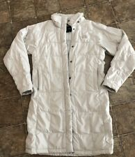The North Face Womens Jacket Small Long Down With ISSUES Zip Snap READ