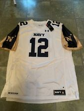NWT Authentic Under Armour Naval Academy Jersey  Rare Size 3XL Navy