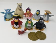"Jakks Club Penguin 5.5"" Figures Lot of 11 - Good Condition"