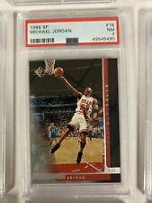 1996 SP 16 Michael Jordan [PSA 7]