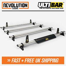 Renault Trafic Roof Rack Bars 4 x Van ULTI Bar H1 Low 2014+