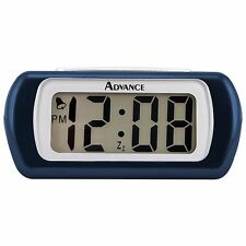 "6108AT Advance Time Technology 0.6"" LCD Digital Alarm Clock - Blue"